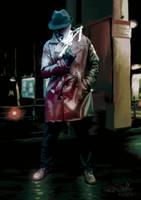Rorschach (Watchmen) by sunteam