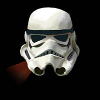 Stormtrooper Helmet by sunteam