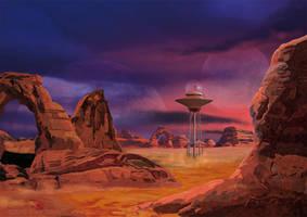Alien World by sunteam