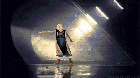 The Doctor (Doctor Who - Jodie Whittaker) Pixelart