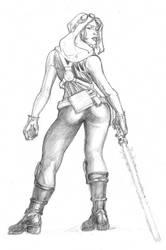 WSG#275 : Star Wars Babes: Mara Jade
