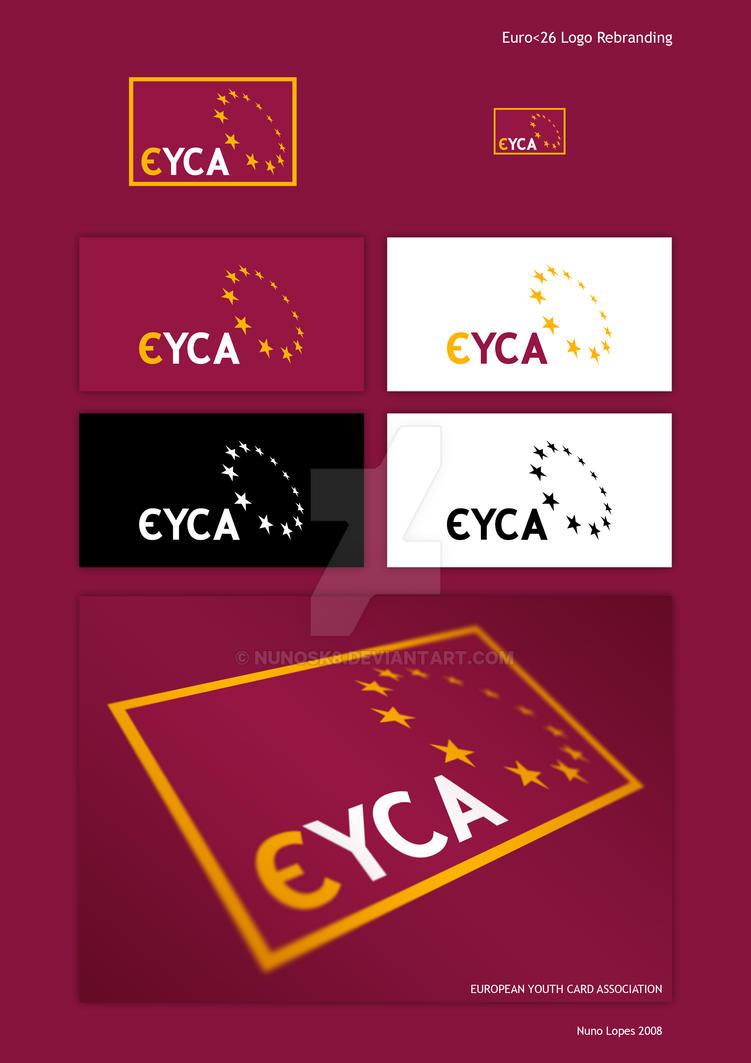 EYCA logo rebranding by Nunosk8