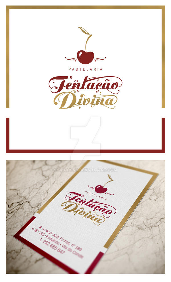 Logo + business card by Nunosk8