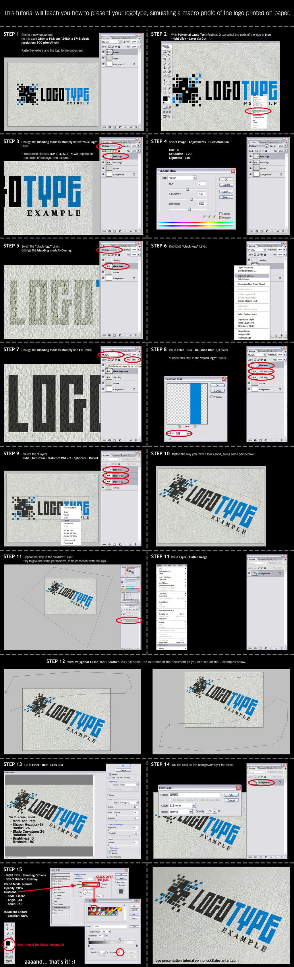 Logo Presentation tutorial by Nunosk8