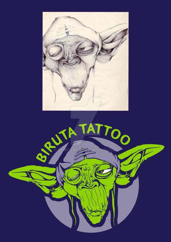 Biruta Tattoo logo by Nunosk8