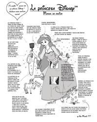 Como ser  una Princesa Disney by Irvin-chan