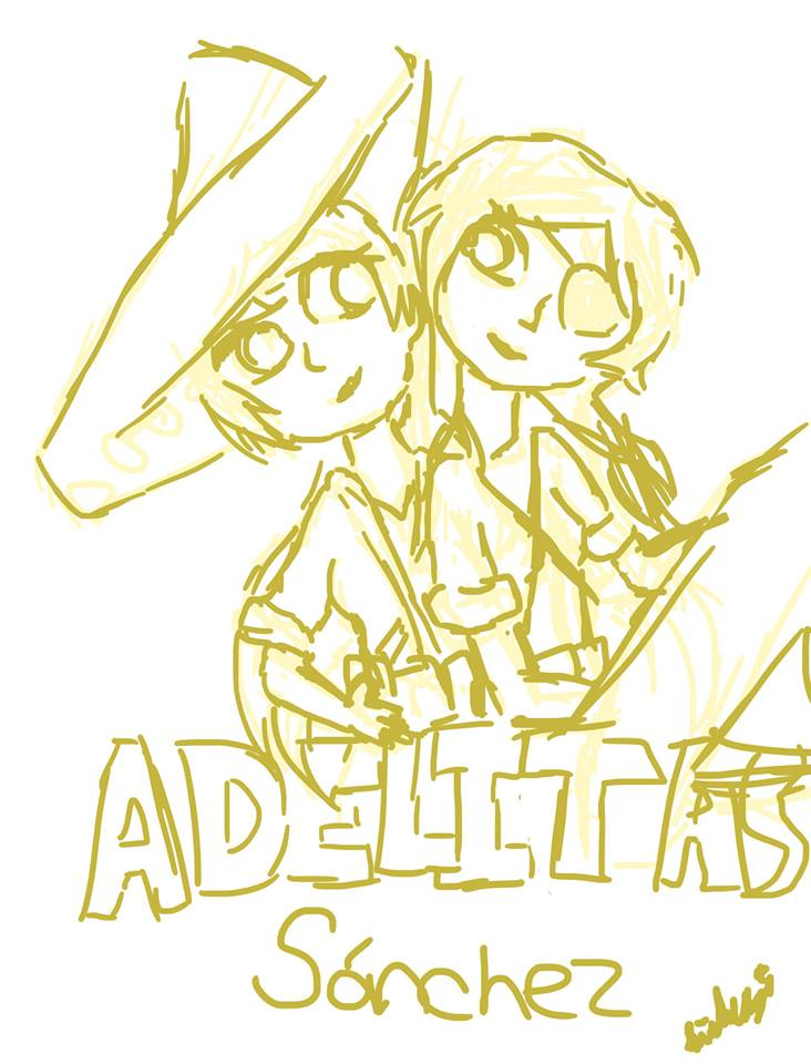 Adelitas Sanchez-sketch by isabellafan4ever