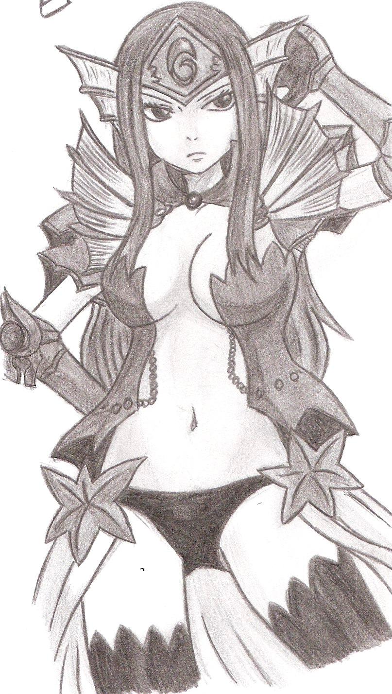 Erza - Sea Empress Arm...