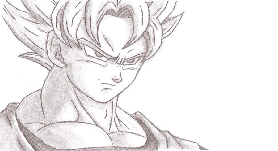 Son goku dbz by chocogirl3
