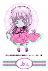 [Adoptable] Violet Pixel Auction [OPEN]