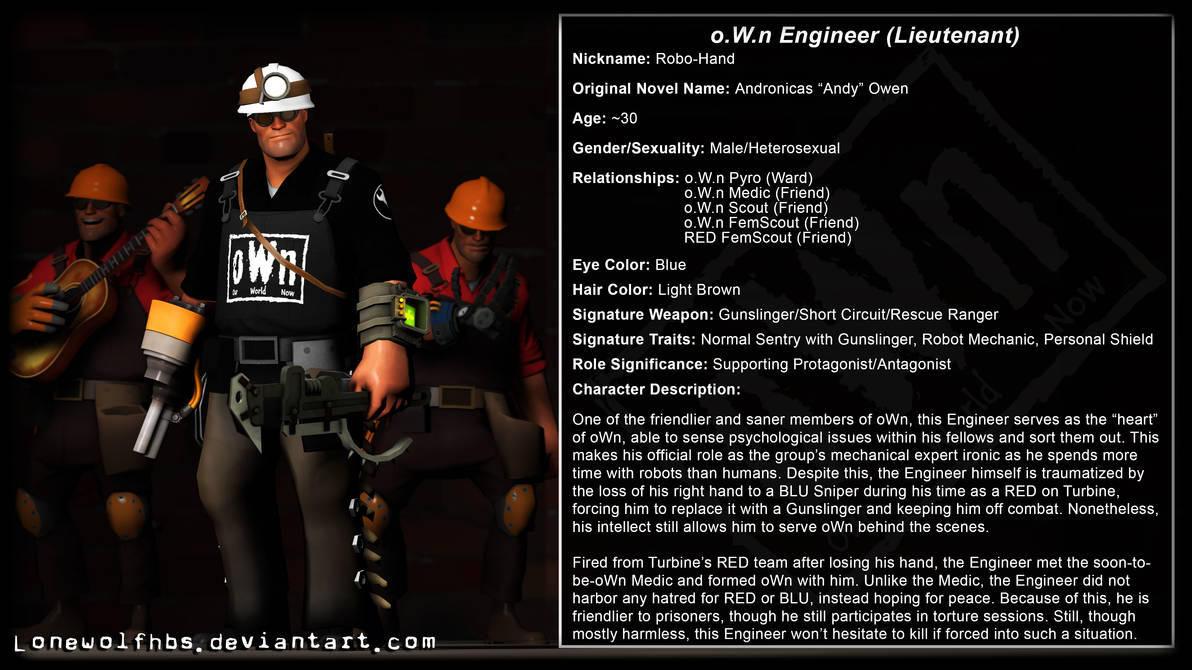 SFM Biography] TF2 - CoP - oWn Engineer by LoneWolfHBS on DeviantArt