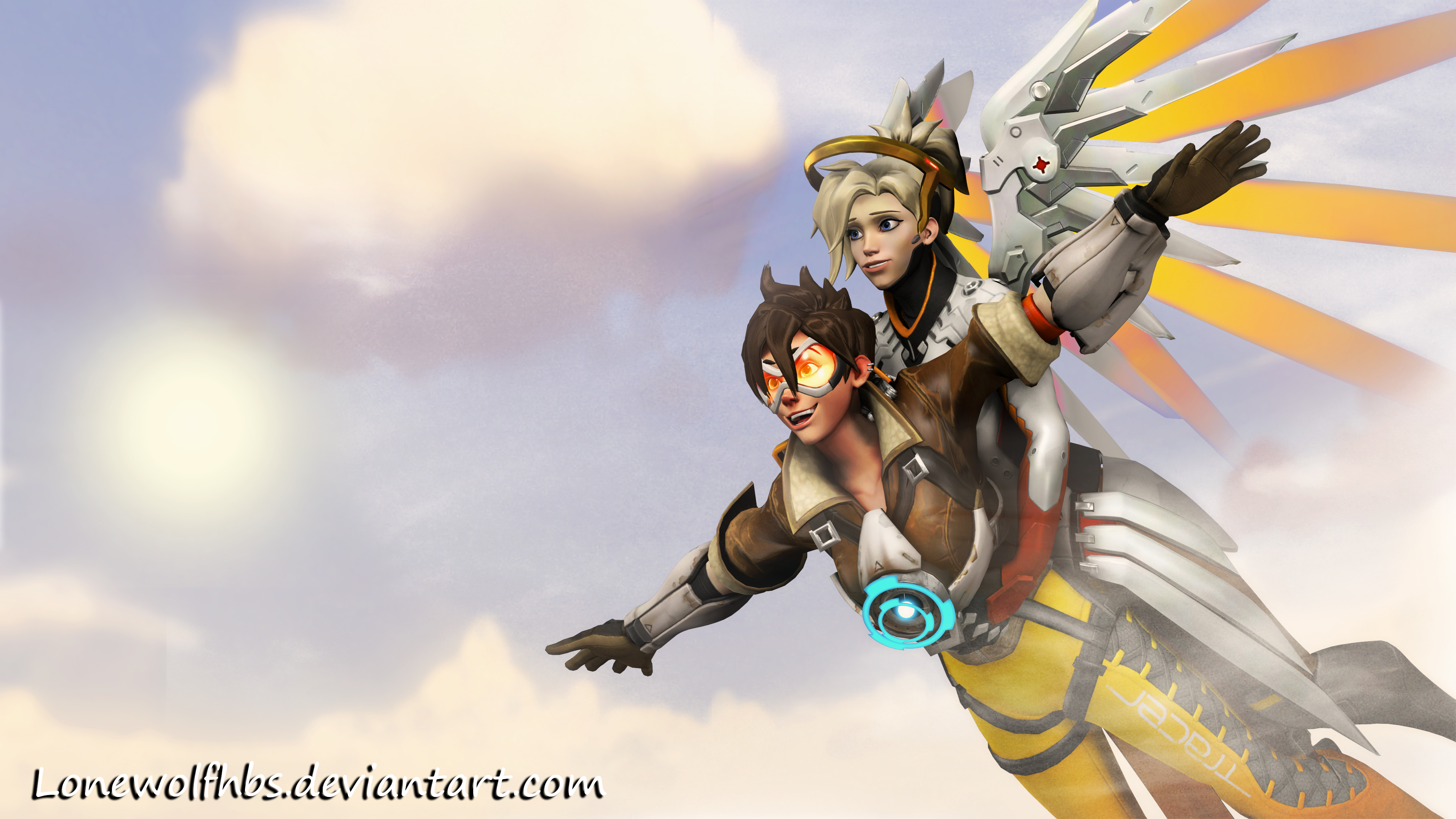 SFM] Overwatch - Giving a Lift by LoneWolfHBS on DeviantArt