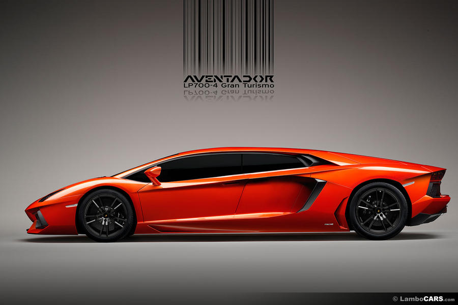 Lamborghini Aventador LP700 4 GT four seater by lambocars