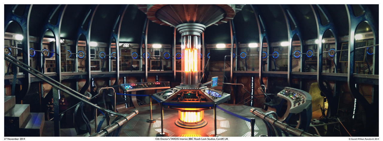 Great 12th Doctoru0027s TARDIS Interior By GarethGWR ...