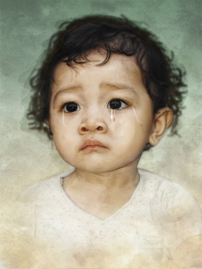 Crying Kyoson by sabercore23ArtStudio