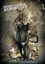 tikus_tikus koruptor by sabercore23ArtStudio