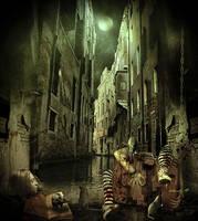 bloody_alley corner by sabercore23ArtStudio