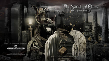 TheSandsOfAhura CD Cover by Sabercore23 by sabercore23ArtStudio