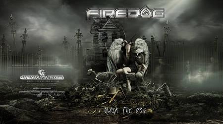 FireDog CDartwork by Sabercore23 by sabercore23ArtStudio