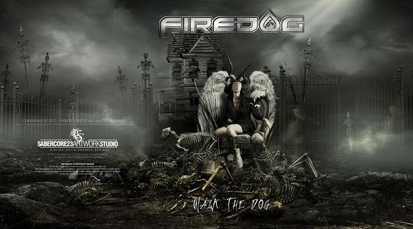 FireDog CDartwork by Sabercore23