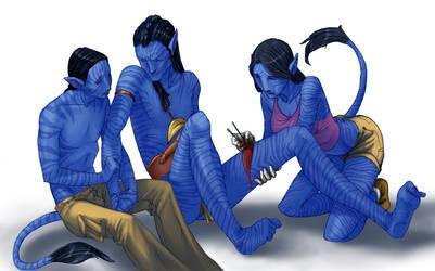 Hands by BlueStoneArcher
