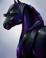 Iridescent pony