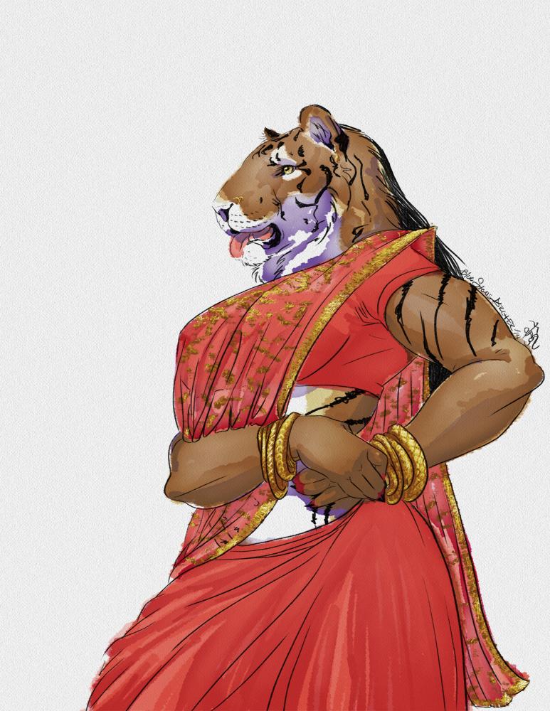 Tigress by BlueStoneArcher