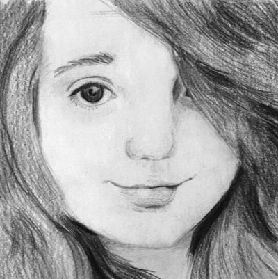 30DIC #1 - Self Portrait by Bunlief
