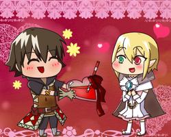 Happy Valentine's day Iris! by MelleCurtiss