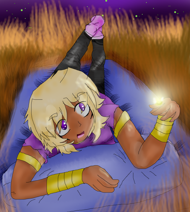 Marik (drawing for my GF) by Sparkylovecupcakes