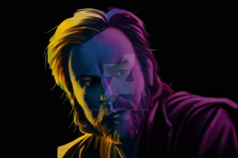 Obi Wan - Digital Painting by Matthew-Neumann