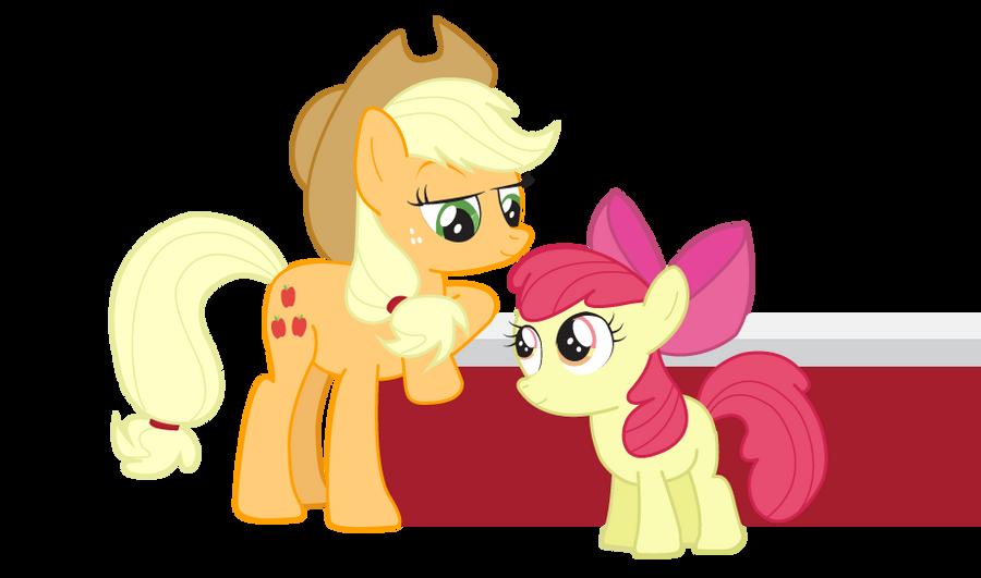 Blinkie Pie And Apple Bloom by Reitanna-Seishin on DeviantArt