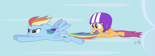Scootaloo's Flying Lesson