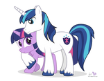 Twilight and Shining Armor