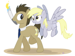 Doctor Whooves and the Olympic Torch