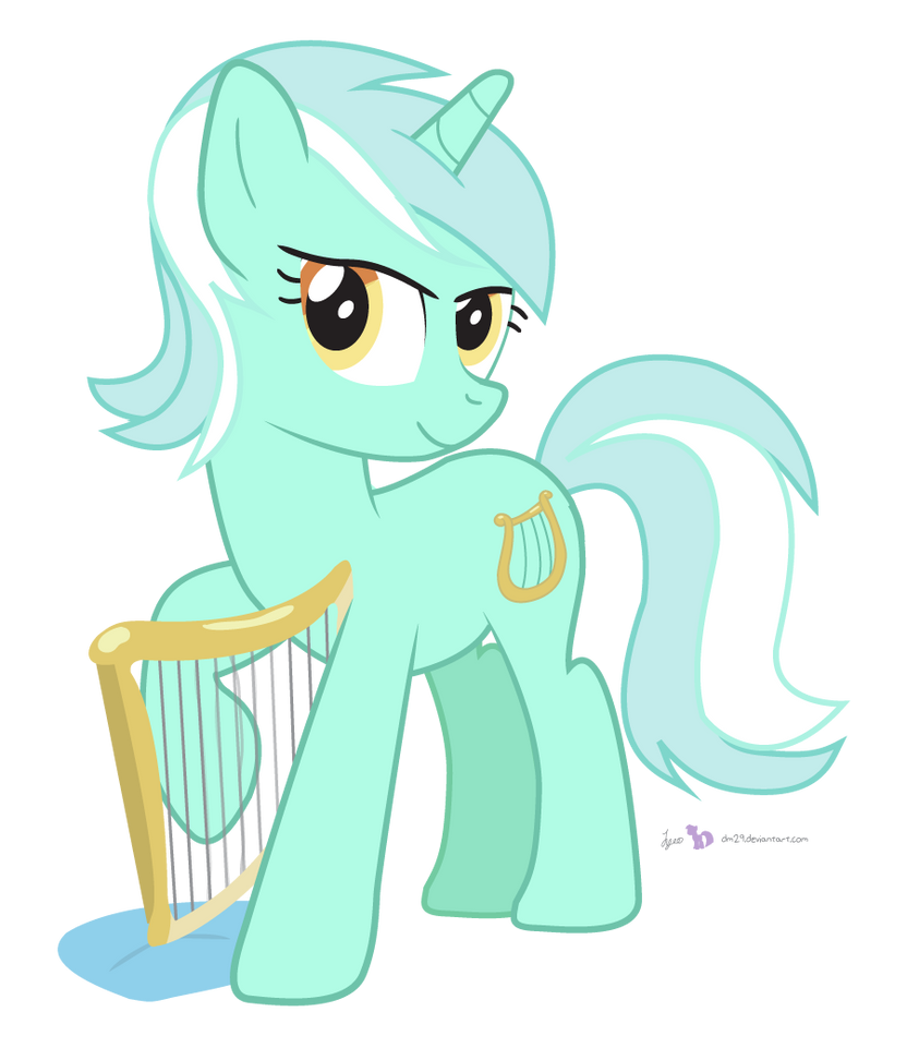 A Beautiful Harp (Play You a Song?) by dm29