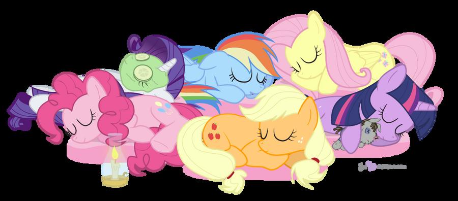 Let Sleeping Ponies Lie by dm29
