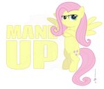 Fluttershy in 'Mane Up'