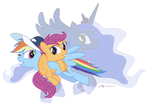 Sisters in Ponyville