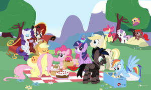 Mane Six Picnic Party feat. BrohoofsUnited (!R)