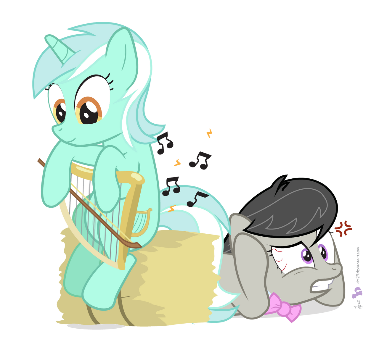 Lyra Found A Bow by dm29