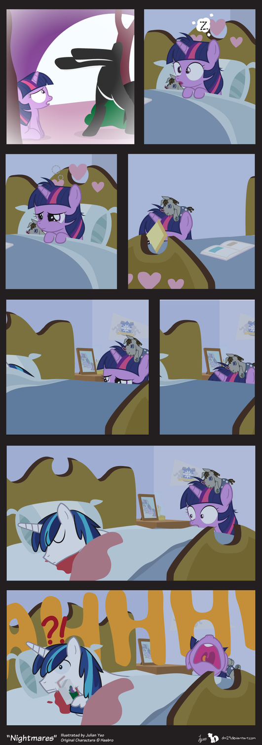 Comic Block: Nightmares by dm29
