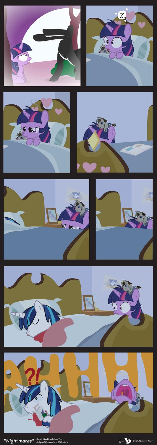 Comic Block: Nightmares by dm29