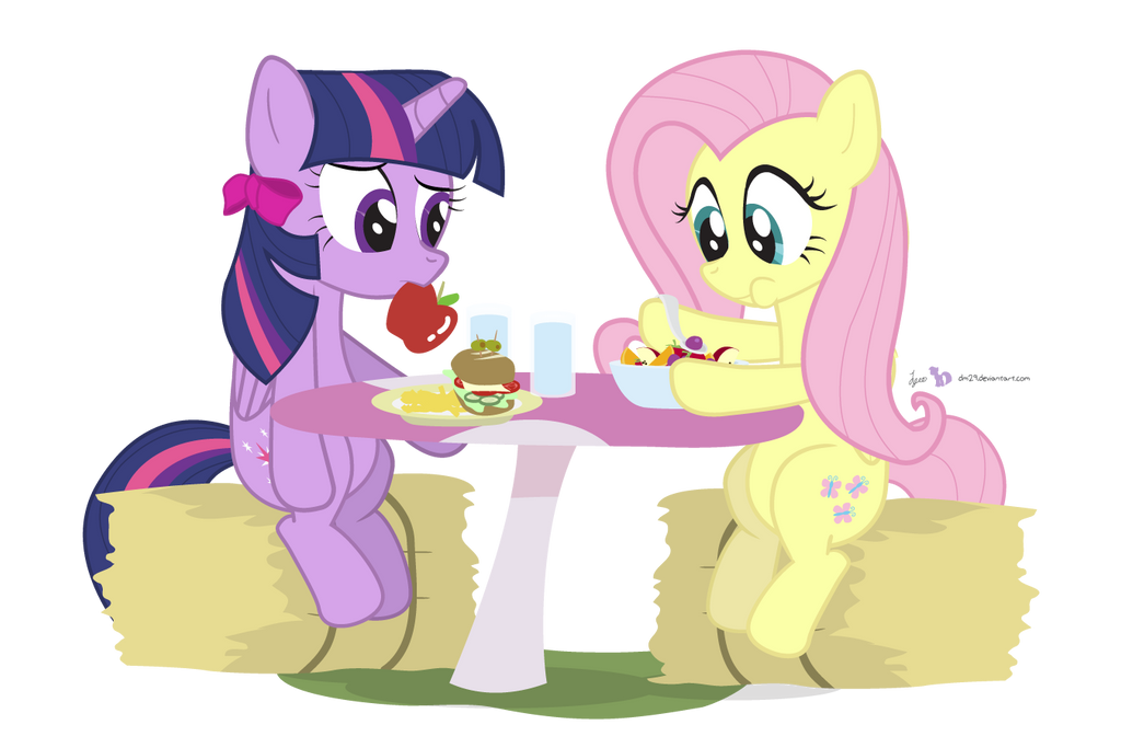Can't You Eat Salad Like A Normal Pony?