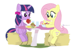 Can't You Eat Salad Like A Normal Pony? by dm29