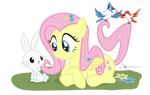 Fluttershy in 'One With Nature'