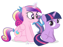 Ponytails for Twily by dm29