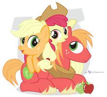 Jack, Bloom and Mac by dm29