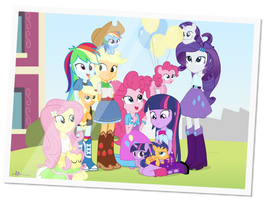 Life at Canterlot High by dm29