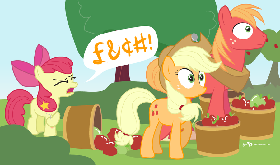 Apple Bloom's Speaking Fancy by dm29